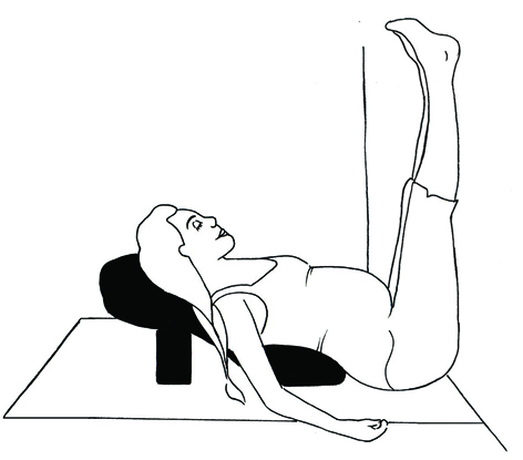 Bliss Baby Yoga Pregnancy Legs up the wall