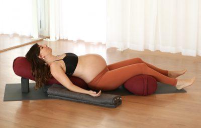 Bliss Baby Yoga Online Prenatal Restorative Yoga Class_LR