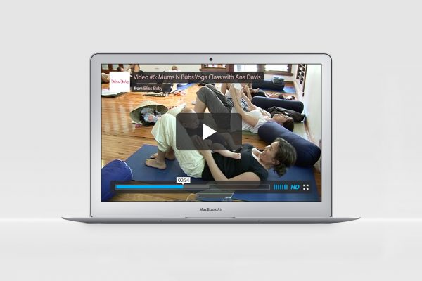 Mums and Bubs Yoga Class (Online Video)
