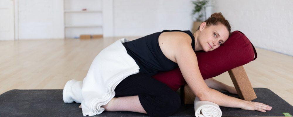 Bliss Baby Yoga Dr Lauren Tober Restorative Yoga Mental Health Teacher Feature