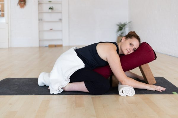 Dr Lauren Tober: Using yoga as a tool to reduce anxiety